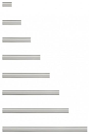 CROWN TRUSS, Alu list 100cm with tape