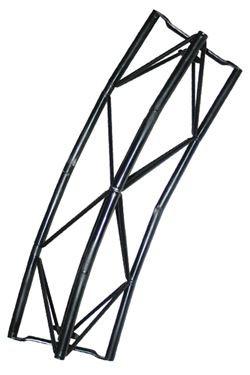 Exibit modul Arc 40 cm, 30 grader - sort