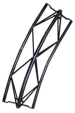 Exibit modul Arc 60cm, 45 grader - sort