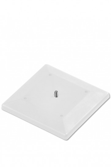 Exibit Fod 16x16cm New Base - Hvid -