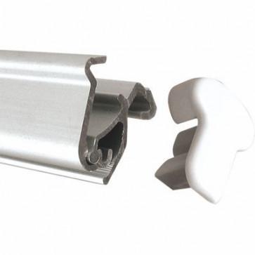 Topprofil med klemliste til Roll-Up Easy 80cm
