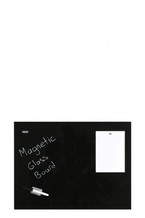 Glass Board Magnetic. Black. 40x60cm