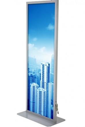 Totem LED Lightstand 59,4x168cm dobbeltsidet