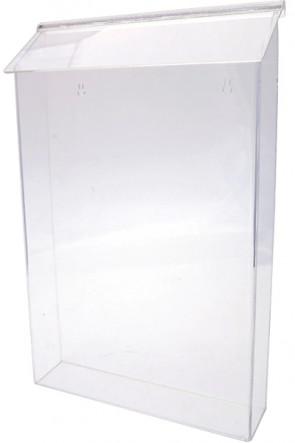 Acrylic Outdoor Brochure Box, A3 Vertical