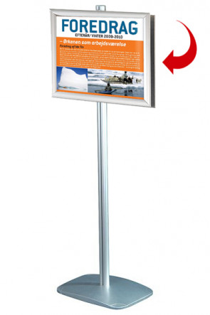 Mini Multistand 2 - Dobbeltsidet A3 Snap Frame
