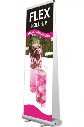 Taske til Flex Roll-up, 90-100 dobbelt sort