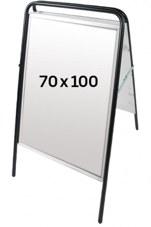 EXPO SIGN gadeskilt 70x100 sort