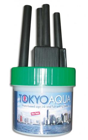 TOKYO AQUA 4 filtpennesæt grøn