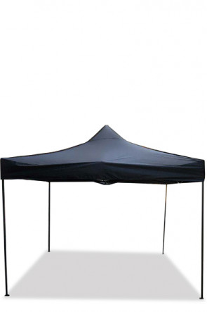 Event Tent Budget, 3x3 m,  30mm stål, sort top. Incl. taske