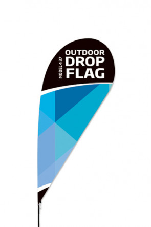 Outdoor Drop Flag - Medium -