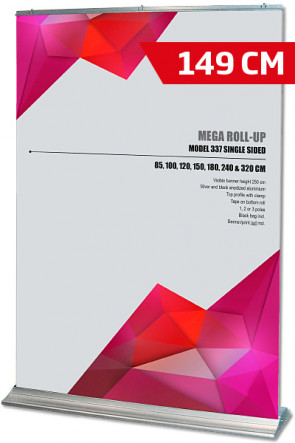 Mega Roll-Up, Model 150 alu