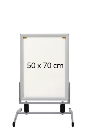 WIND-LINE BASIC gadeskilt 40mm (G) 50x70cm alu
