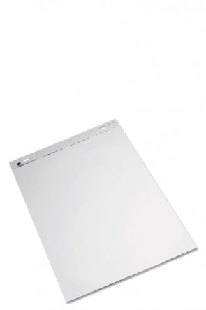 Flipover / Flipchart  blok 59x80cm hvid, blok á 50 ark