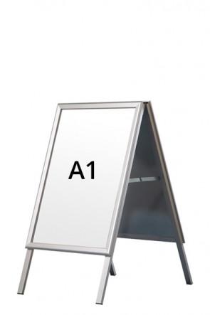 ALU-LINE gadeskilt 32mm A1 (G) ALU