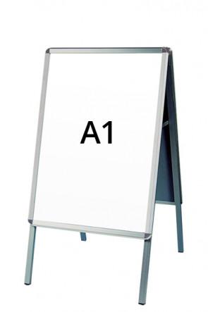 ALU-LINE Gadeskilt 32mm A1 (R) ALU
