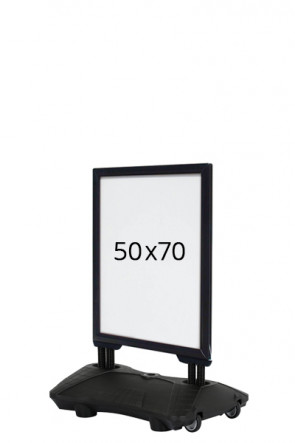 WIND-SIGN Waterbase Budget 40mm (G) 50x70cm - Black
