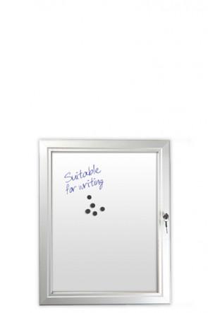 INFOBOX magnetic m/lås 4xA4