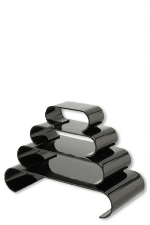 Nesting Shelves Rounded x 4 - black