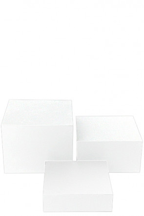 Nesting Boxes x 3 - clear